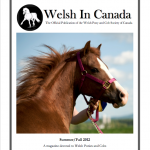 Summer/Fall 2012 Welsh in Canada