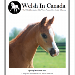 Spring/Summer 2012 Welsh in Canada